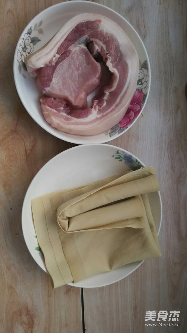 千张肉卷的做法大全