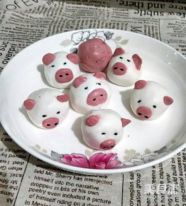 可爱的小猪猪汤圆怎么做