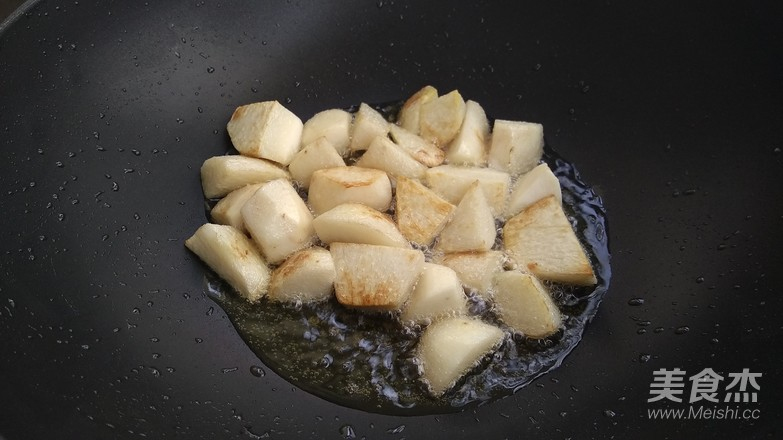 芋头烧排骨的简单做法