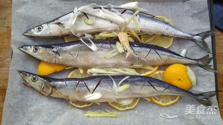香烤秋刀鱼怎么煮