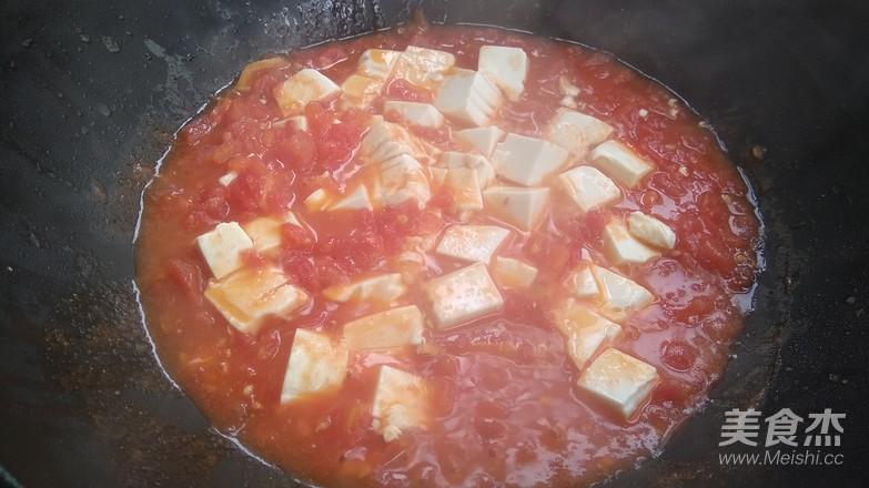 番茄豆腐怎么炒