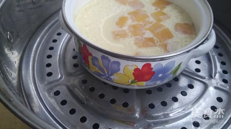 芒果牛奶炖蛋怎么炒