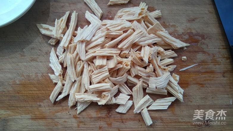 葱烧腐竹的做法图解