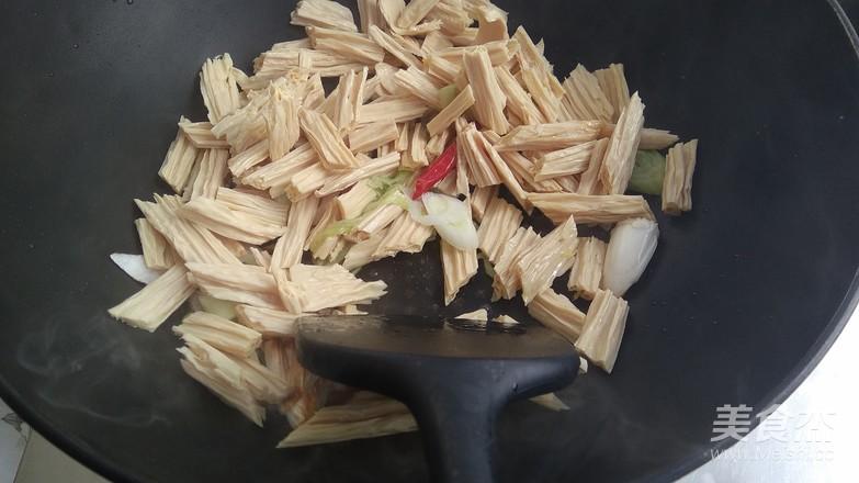 葱烧腐竹怎么吃