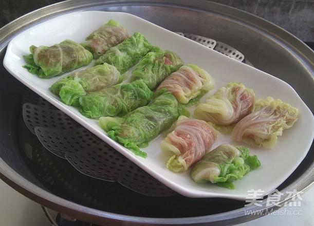 香辣白菜卷肉怎么做