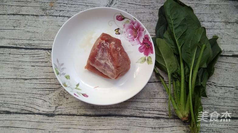 菠菜肉丸汤的做法大全