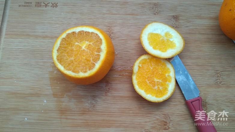 橙子拼盘的做法大全