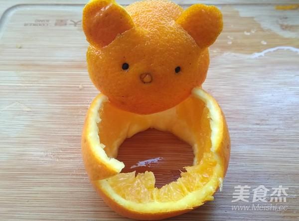 橙子拼盘怎么吃