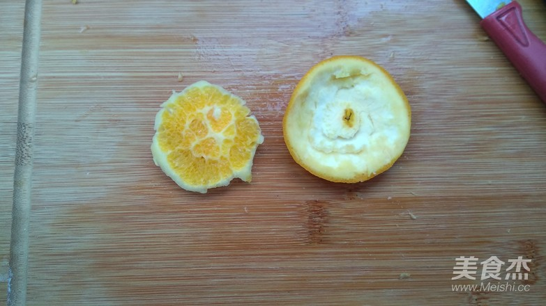 橙子拼盘怎么做