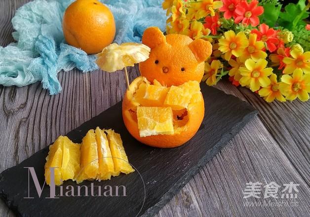 橙子拼盘怎么煮
