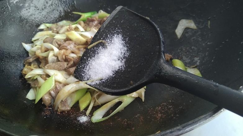葱爆羊肉怎样煮