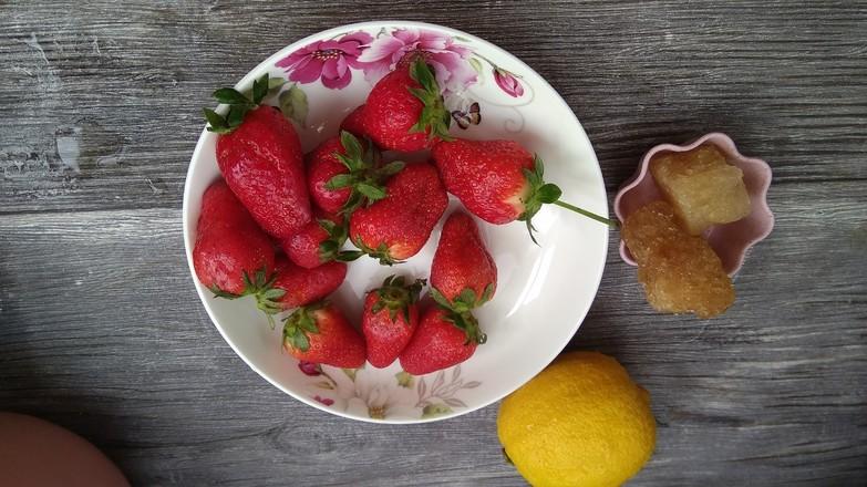 糖水草莓下午茶的做法大全