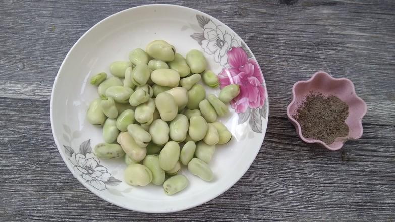 香酥蚕豆的做法大全