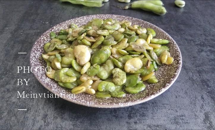 香酥蚕豆怎么煮