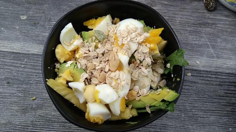果蔬沙拉#早餐的简单做法