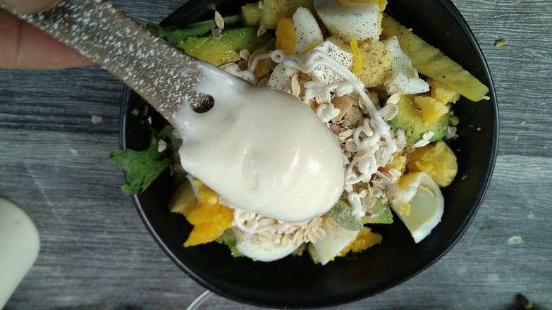 果蔬沙拉#早餐怎么炒