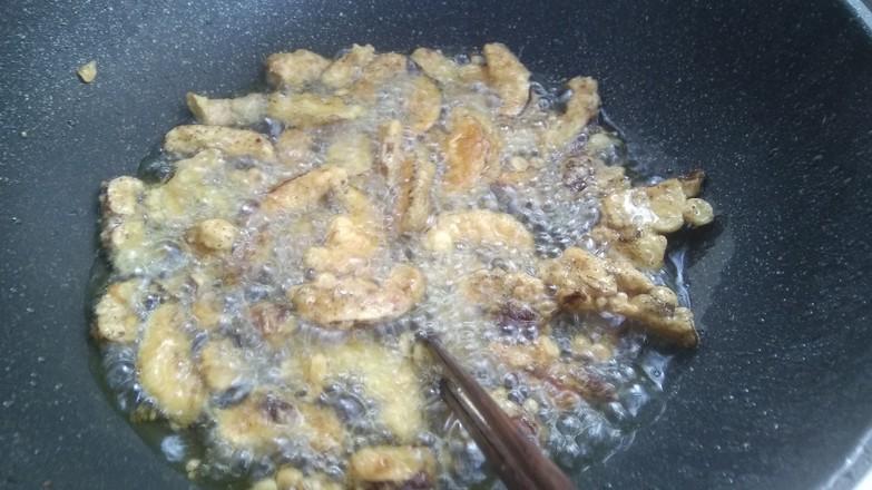 香菇脆片的步骤