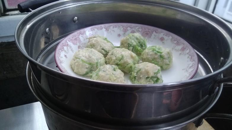 西葫芦豆腐丸怎样做