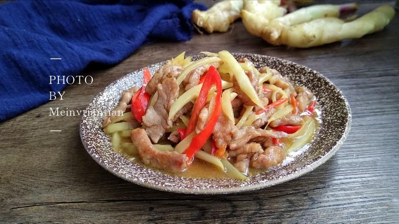 姜丝炒肉成品图