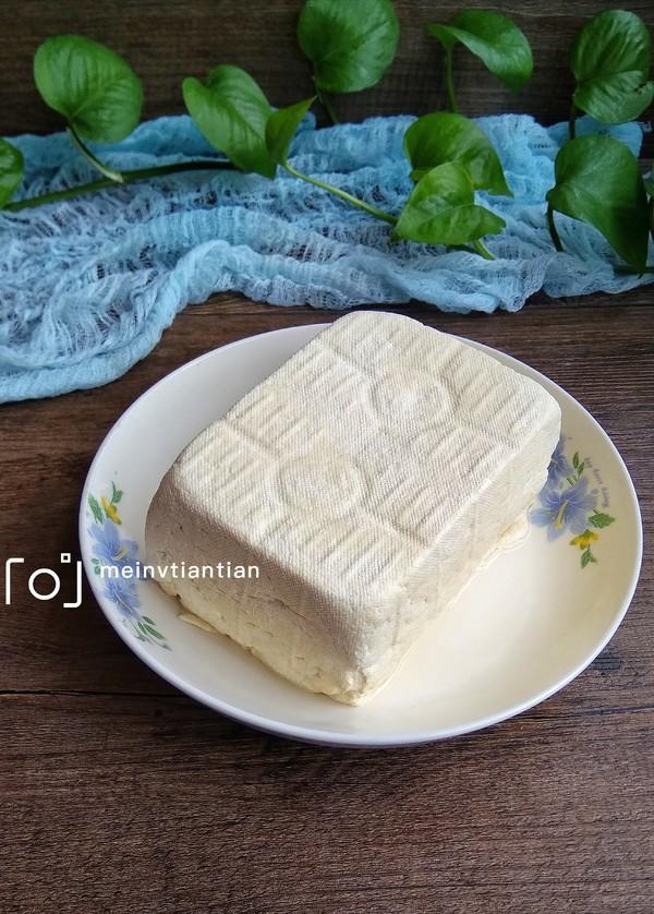 自制豆腐成品图