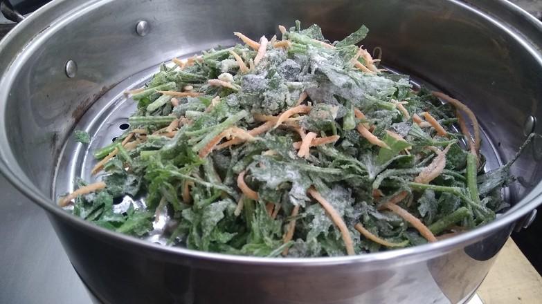 蒜香芹菜叶怎么吃