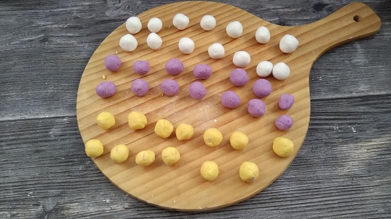 桂花藕粉圆子的家常做法