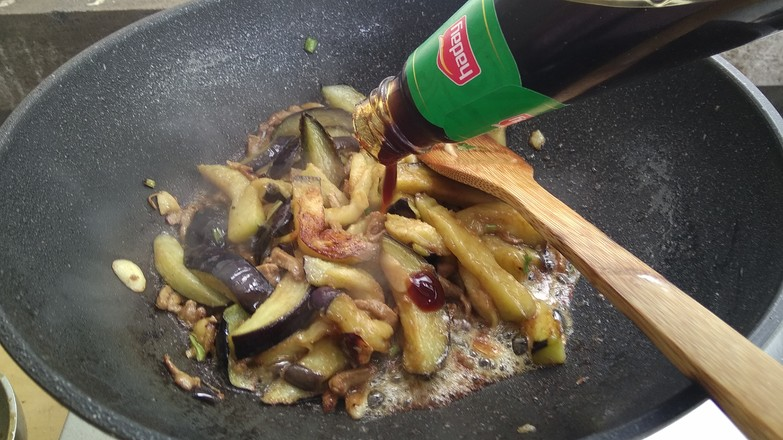 茄子炒肉丝怎样做