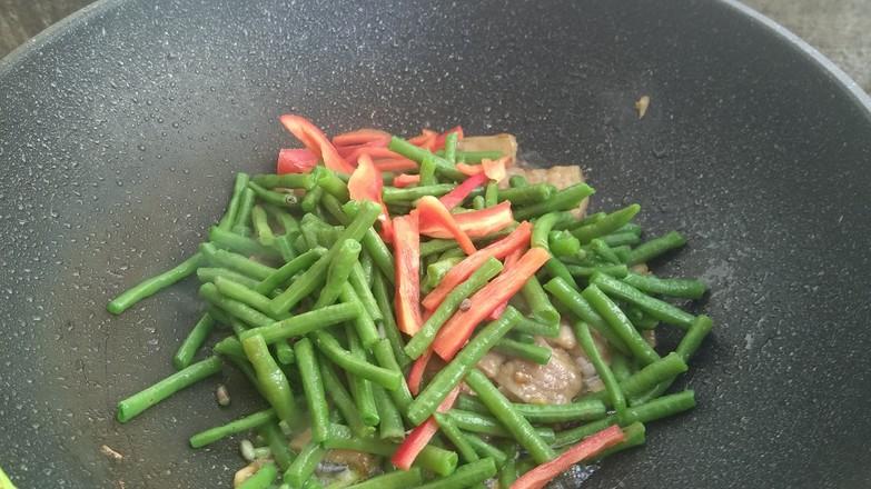 长豆角炒肉片怎样煮