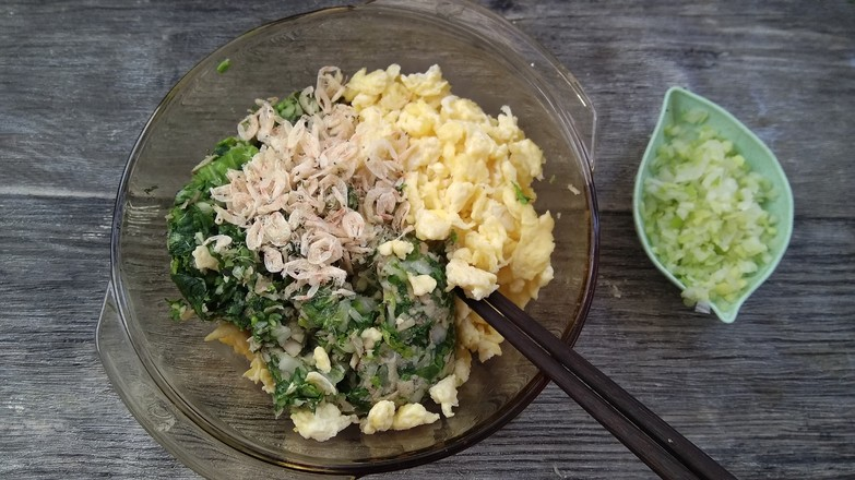 青菜蘑菇饺子怎么吃