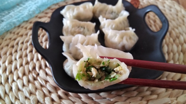 青菜蘑菇饺子怎样炒
