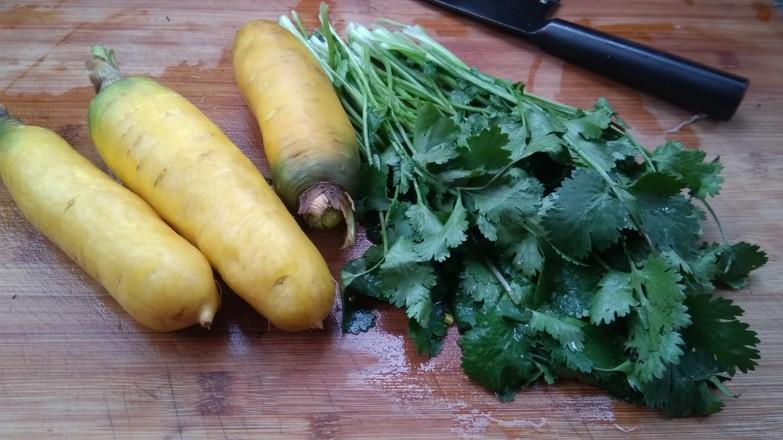 胡萝卜香菜丸子的做法大全