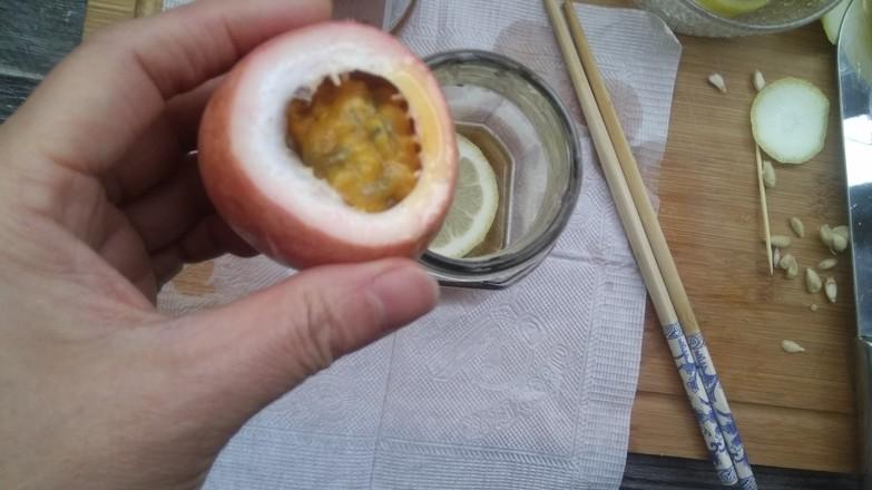 百香果蜂蜜饮的步骤