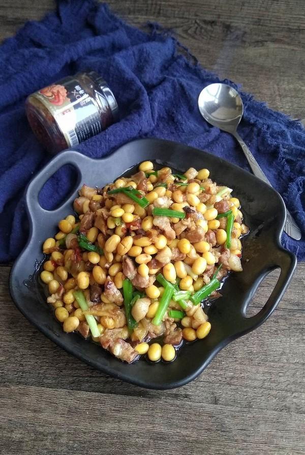 xo酱黄豆焖猪肉成品图