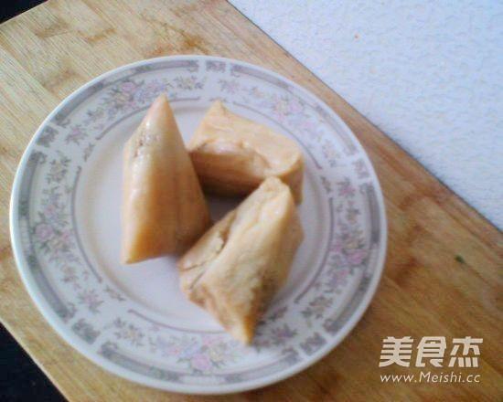 什锦浇汁粽子的做法图解