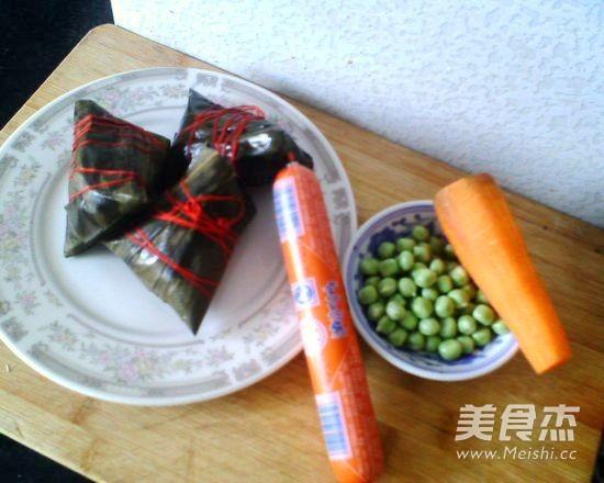 什锦浇汁粽子的做法大全