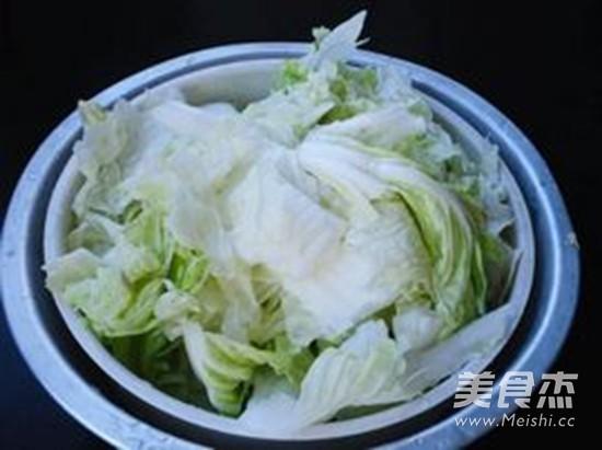 大白菜炖干豆腐的做法图解