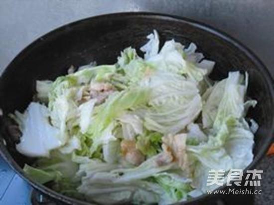 大白菜炖干豆腐怎么煮