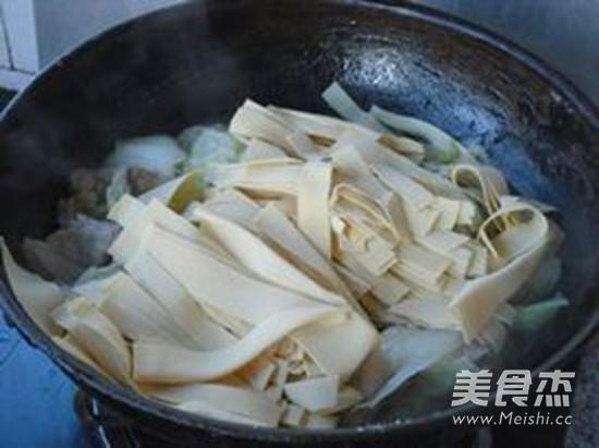 大白菜炖干豆腐怎么煸