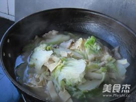 大白菜炖干豆腐怎样做