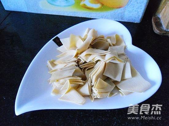 丝瓜干豆腐的家常做法