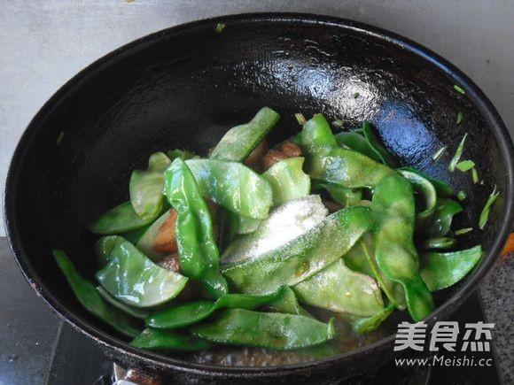 红烧肉烧扁豆怎么炒