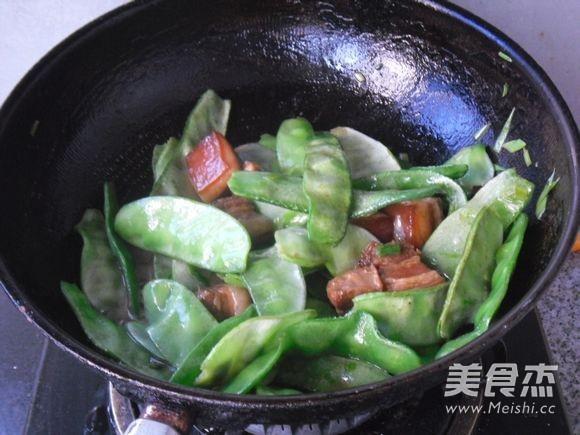 红烧肉烧扁豆怎么煮