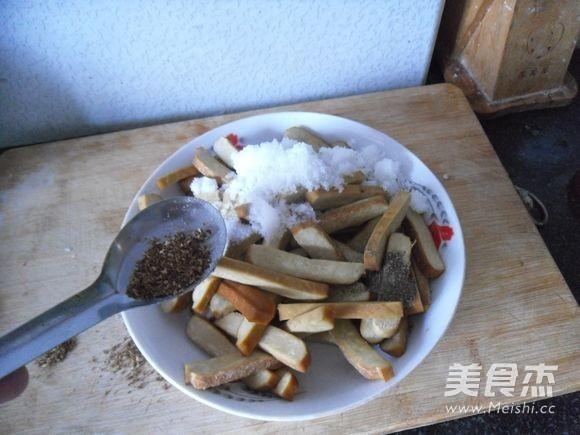 麻辣豆腐干怎么炒