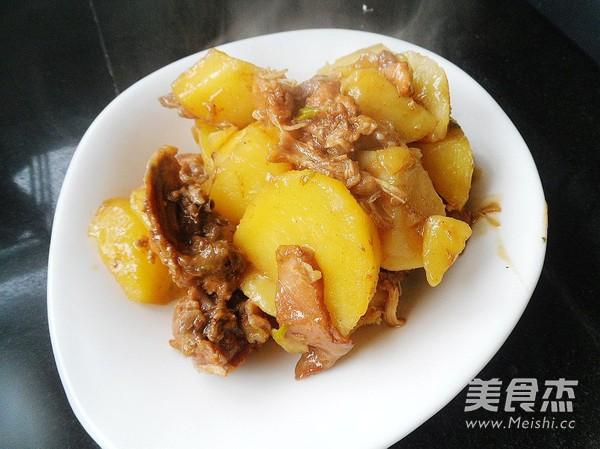 土豆烧兔肉怎样煸