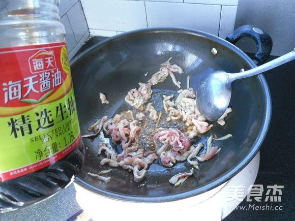 肉丝榨菜怎么做