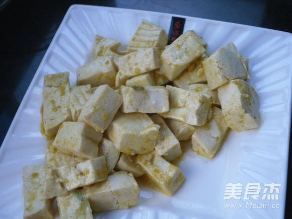 金沙豆腐怎么煮