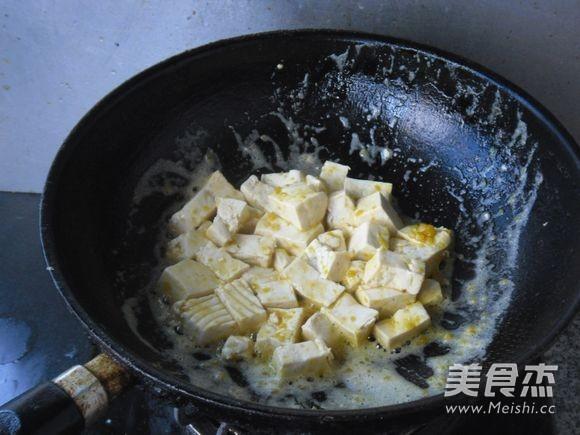 金沙豆腐怎么炒