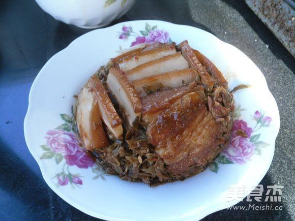 干豆角蒸五花肉的制作方法