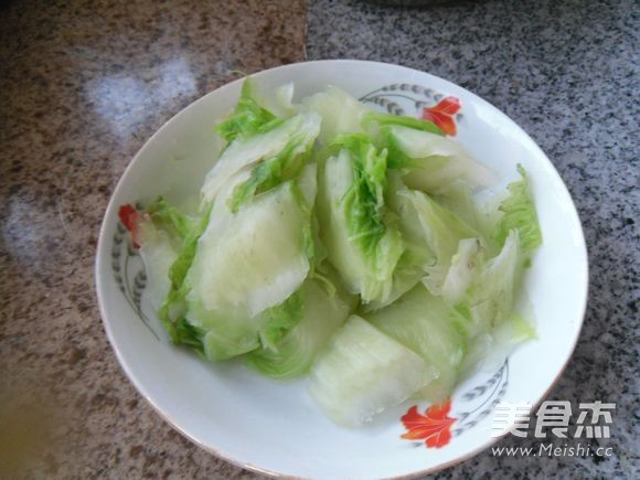 炒黑白菜的简单做法