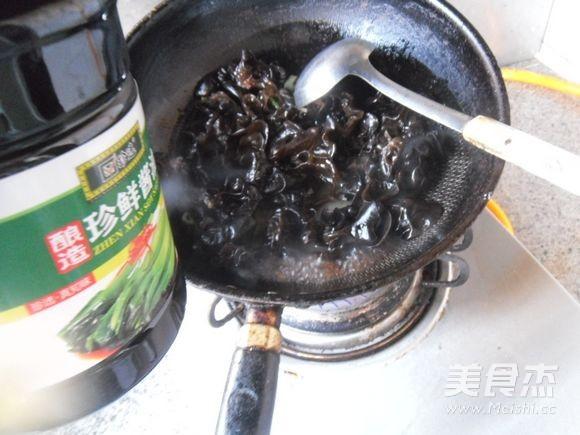炒黑白菜怎么炒